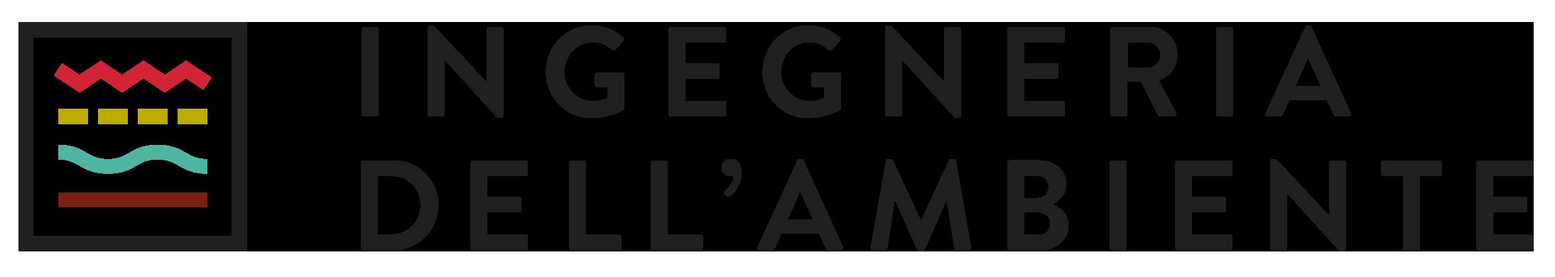 """Logo """"Ingegneria dell'Ambiente"""" magazine"""
